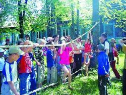 Колос, детский лагерь