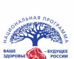 Проект «Ваше здоровье – будущее России»