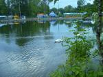 День города в Сормовском парке, вручение подарков участникам лотереи